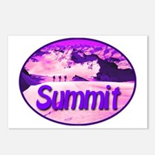summit_transparent_deepvi Postcards (Package of 8)