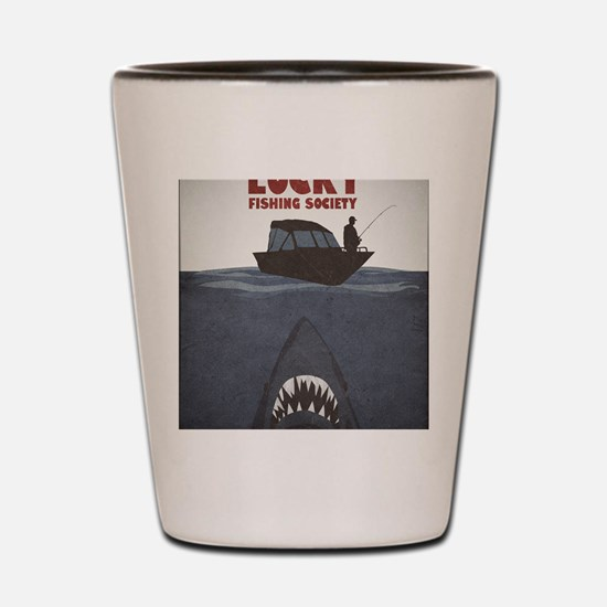 Jaws Shot Glass