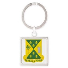 759th Military Police Battalion  3 Square Keychain