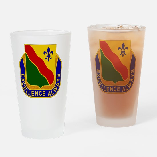 787th Military Police Battalion Drinking Glass