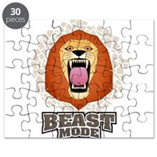 Lion Beast Mode MMA Cross Fit Crossfit Gym Puzzle