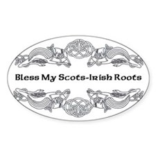 My Scots-Irish Roots Decal