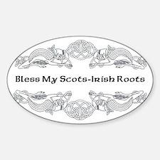 My Scots-Irish Roots Decal