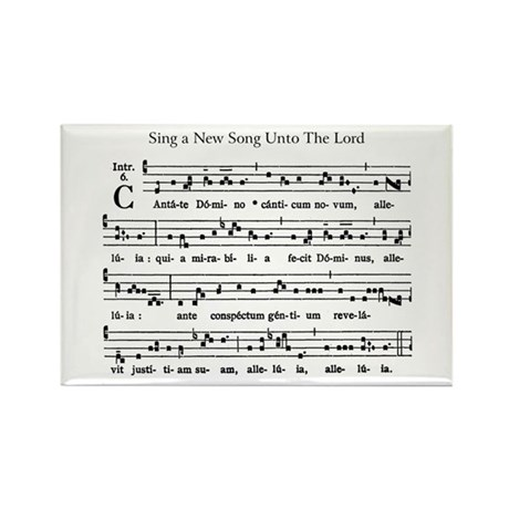 Gregorian Chant Rectangle Magnet (10 pack)