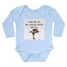 martial arts Long Sleeve Infant Bodysuit