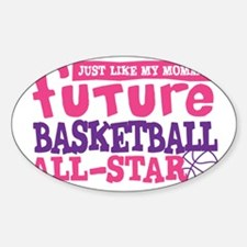 future all star GIRL-01 Sticker (Oval)