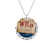 WFShirt Necklace Circle Charm