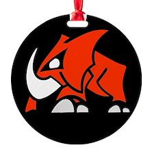 ElephantedRED3 Ornament