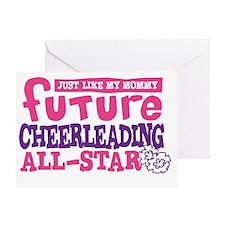 future all star GIRL Greeting Card