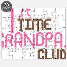1sttimegrandpasclubpink Puzzle