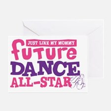future all star GIRL-01 Greeting Card