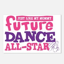 future all star GIRL-01 Postcards (Package of 8)