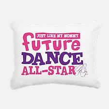 future all star GIRL-01 Rectangular Canvas Pillow