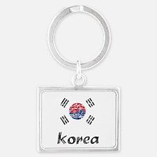 korea1 Landscape Keychain