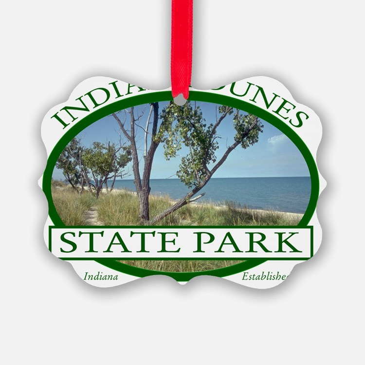 Indiana Dunes State Park Ornament