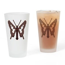 butterfly1 Drinking Glass