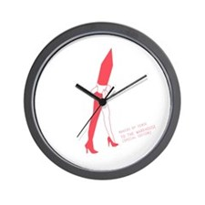 Makers of Sense - To the Warhouse [PINK Wall Clock