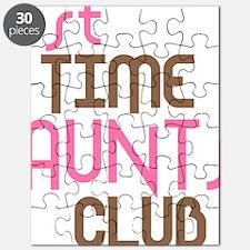 1sttimeauntsclubpink Puzzle