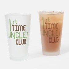 1sttimeunclesclubgreen Drinking Glass