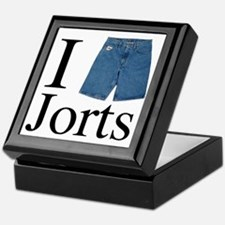 I heart jorts Keepsake Box