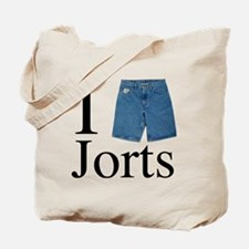 I heart jorts Tote Bag