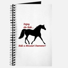 Unique Missouri fox trotter Journal