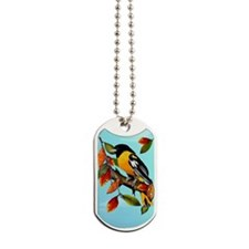 ipod TouchOriole In Fall Dog Tags
