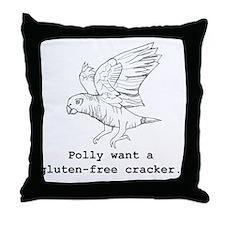gluten-free Throw Pillow