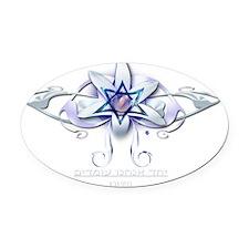 for Israel4 Oval Car Magnet
