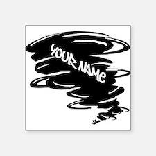 Black Tornado Sticker