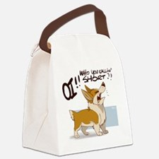 corgi 001 Canvas Lunch Bag