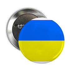"Cute Ukraine flag 2.25"" Button (100 pack)"