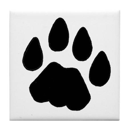 Cougar Track Tile Coaster