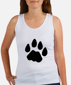 Cougar Track Women's Tank Top