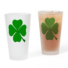 clover.gif Drinking Glass