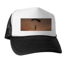 Trucker Hat with Sunset Skydiver