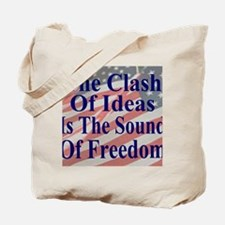 Clash of Ideas 35 dk bl  Flags mouse Tote Bag