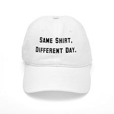 Same Shirt Black Baseball Cap