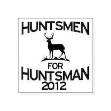 "huntsmen Square Sticker 3"" x 3"""