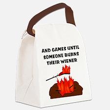 Wiener Burn Canvas Lunch Bag