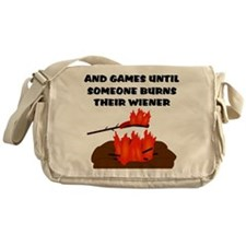 Wiener Burn Messenger Bag