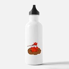 Wiener Burn Dark Water Bottle