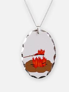 Wiener Burn Dark Necklace
