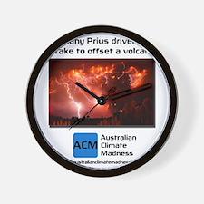 prius_tshirt_2 Wall Clock