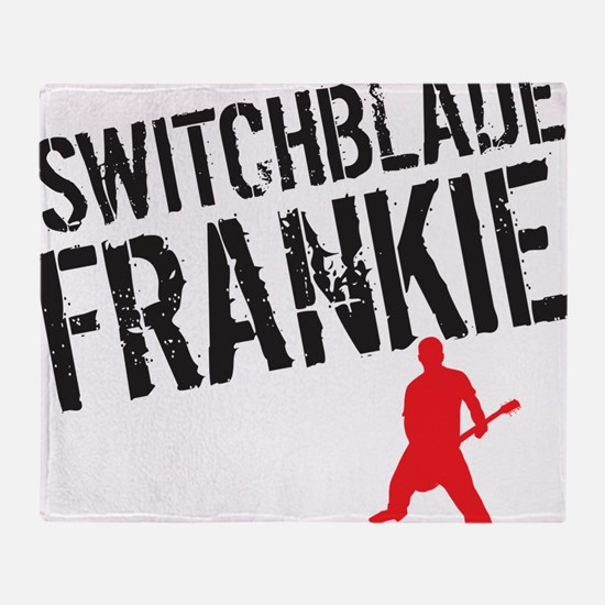 Switchblade Frankie LP cover Throw Blanket