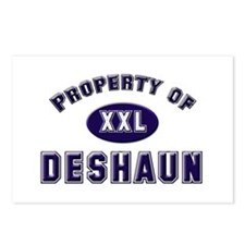 Property of deshaun Postcards (Package of 8)