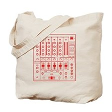 mixer-lrg-red-worn Tote Bag