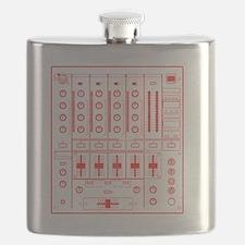 mixer-lrg-red-worn Flask