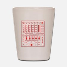 mixer-lrg-red-worn Shot Glass