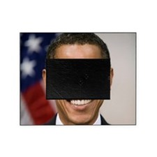 smiling_portrait_of_Barack_Obama-clo Picture Frame
